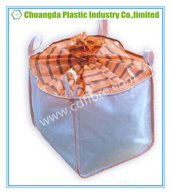 Waterproof FIBC PP Woven Bulk Jumbo Bag for Packing Powders