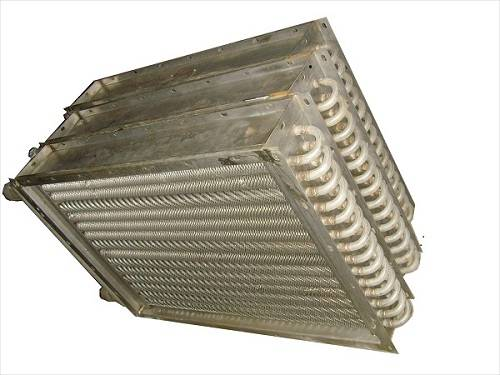 Air Heat Exchanger for Starch Machines