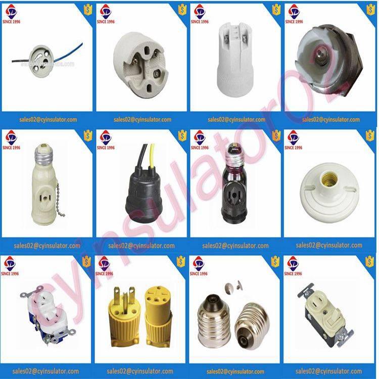 porcelain or bakelite lamp holder