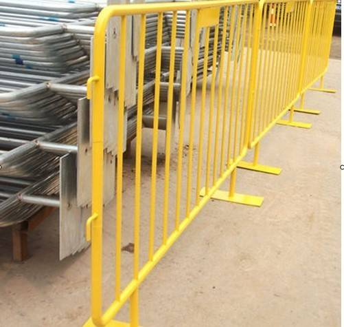Galvanized/PVC Coated Crowd Control Barrier