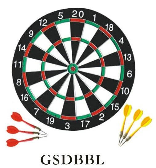 "15""/17"" Kids dartboard surround with 6pcs darts"