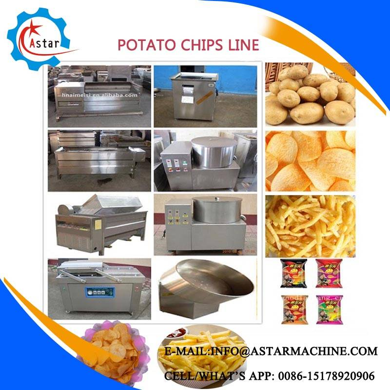 Plantain Chips Making Line For Sale Spain
