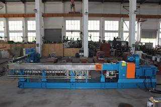 High efficiency twin screw extruder pe extruder to make pe granules