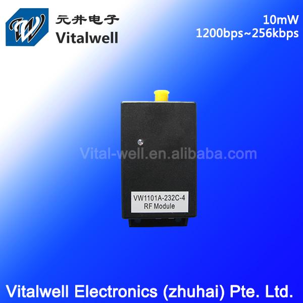 VW1101A TI CC1101 433MHz 5V 10mW rs232 uart wireless humidity sensor controller