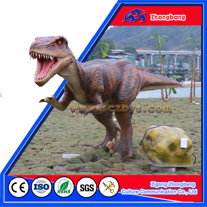 Outdoor Theme Park Exhibition Interactive Dinosaur