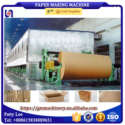 kraft bag paper corrugated paper testliner paper making machine