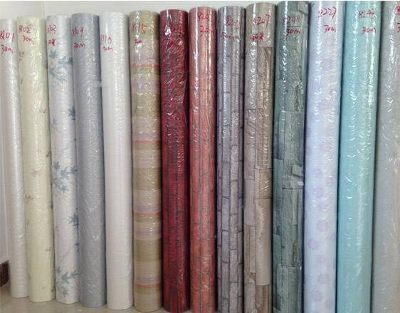 wall design pvc self-adhesive wallpaper