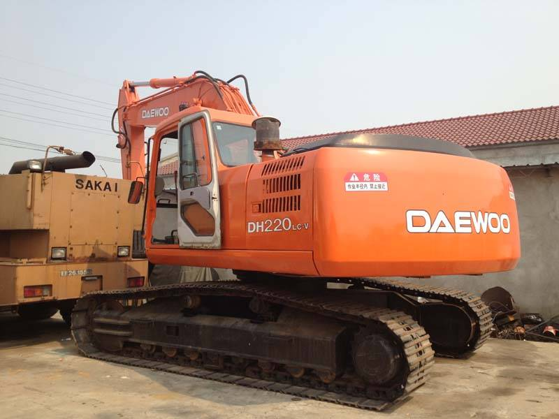 Used Daewoo DH220LC-V Excavator