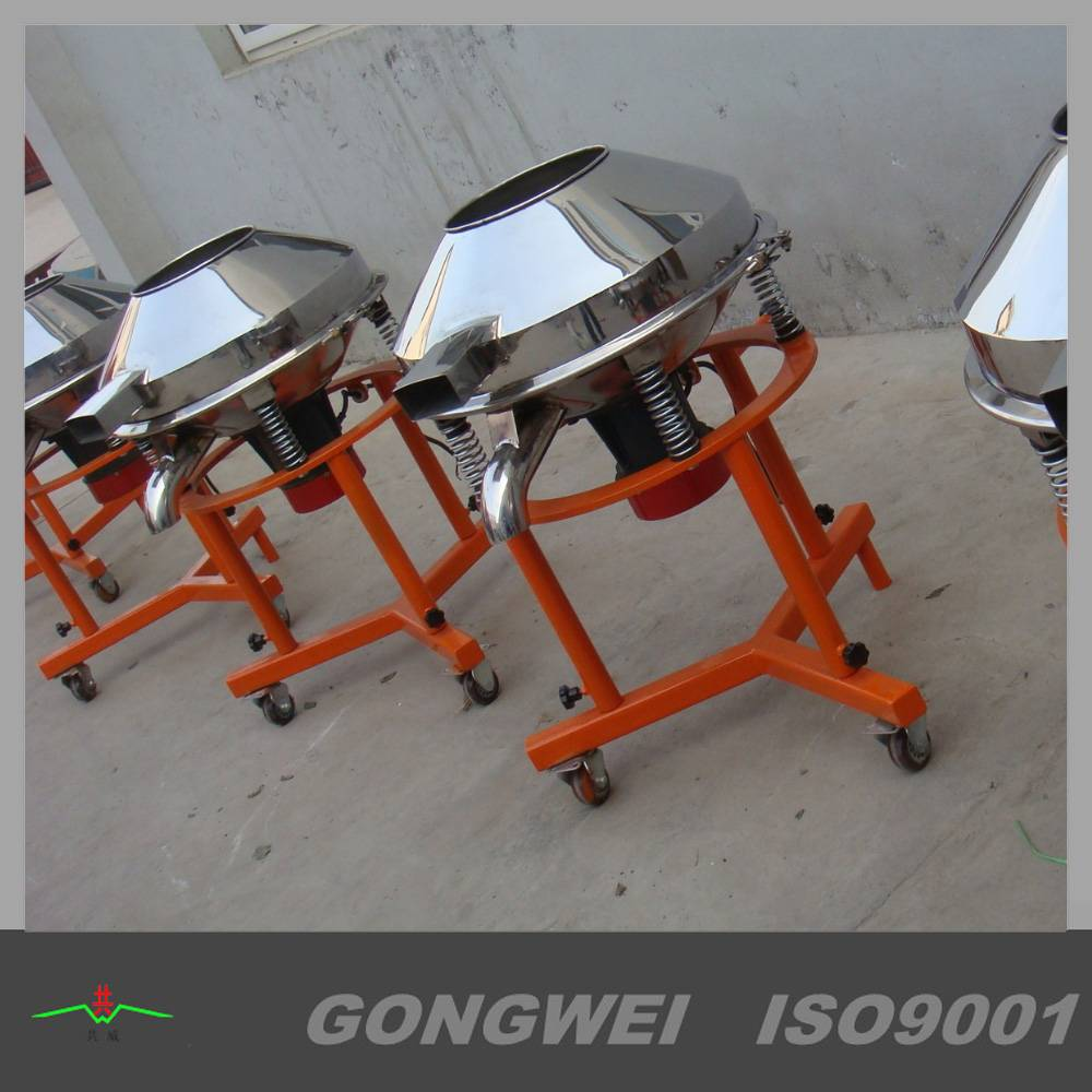 Round vibro sieve for fruit juice