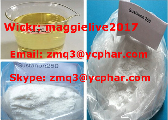 Raw Steroids Mixed-Testosterone Sustanon 250 Powder with High Purity