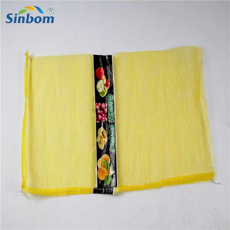 pp pe Leno tubular mesh net bag for vegetables