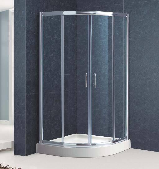 Quadrant Sliding Shower Room with High Shower Tray(Kt6009)