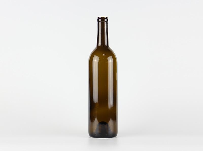 Bordeaux Wine Glass Bottle 750ml 1042