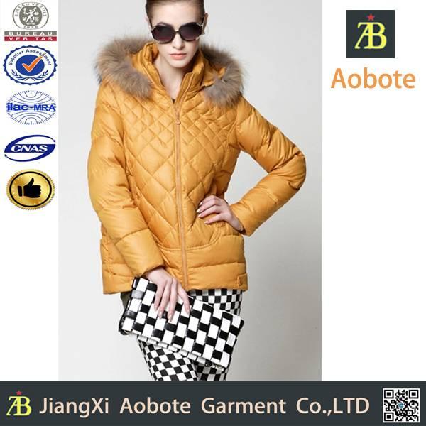 2014 new fashion customized outdoor man short down jacket