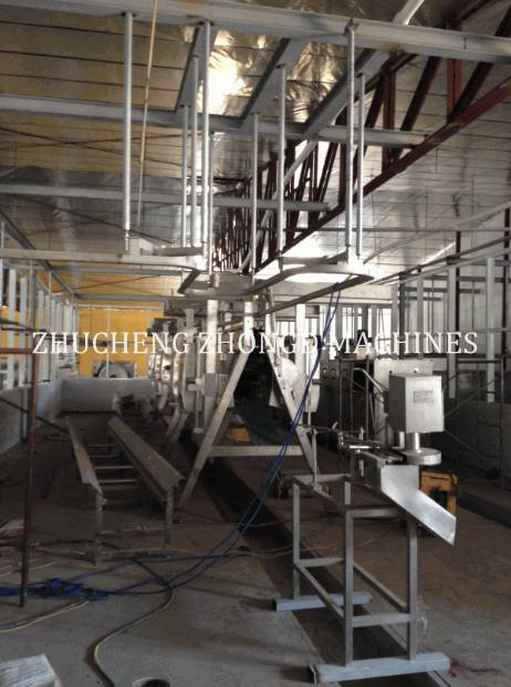 Halal Chicken  Slaughter Equipment Production Line
