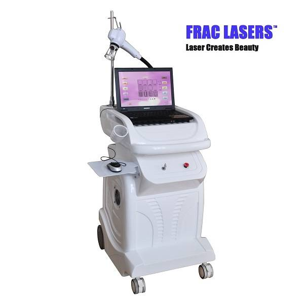 Erbium fractional laser 1550nm wrinkle removal skin resurfacing machine