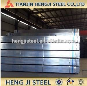 tianjin galvanized square pipe