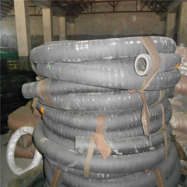Heat Resistant Rough Surface Rubber Hose With Cloth Insert