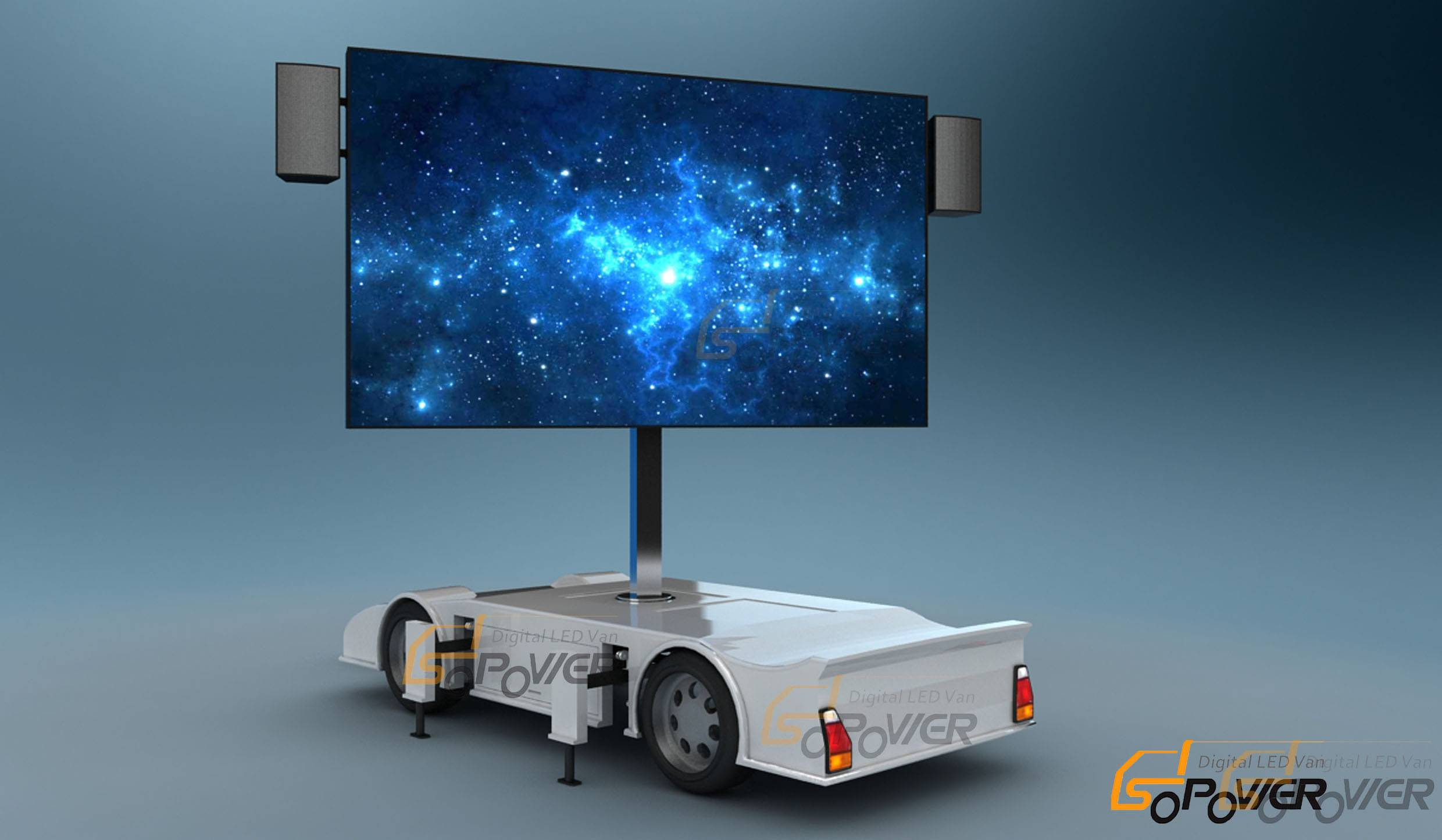 SoPower Digital LED Trailer iTrailer 9