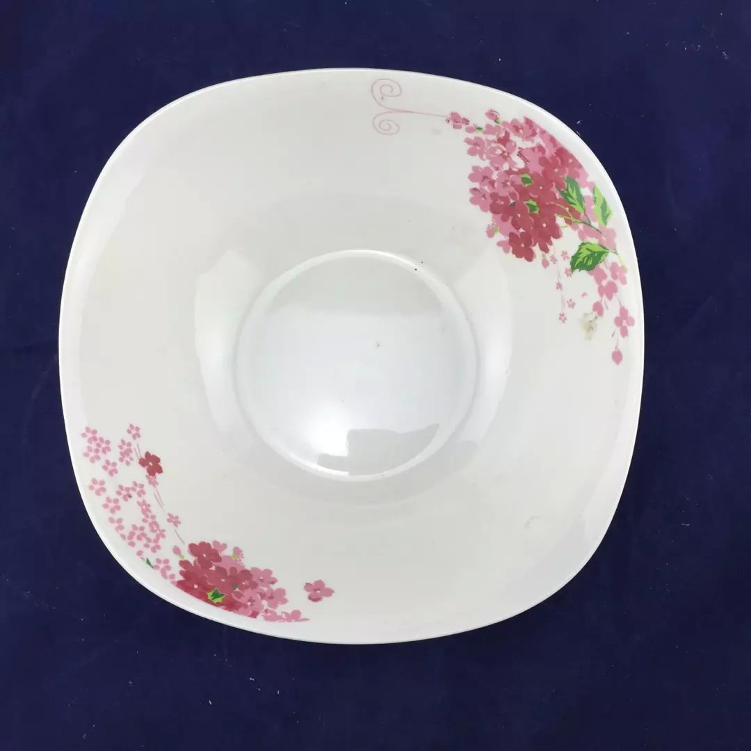 "9"" square shape salad bowl"
