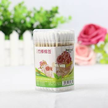 90PCS High Quality Bamboo Wooden Stick Cotton Buds/ Cotton Swabs Make Up OEM Manufacturer Wholesale