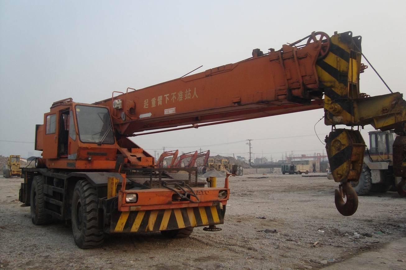 kato used rough crane