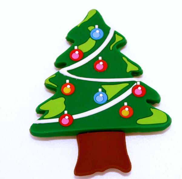 Hot Sell Christmas Gift Promotional PVC Fridge Magnet