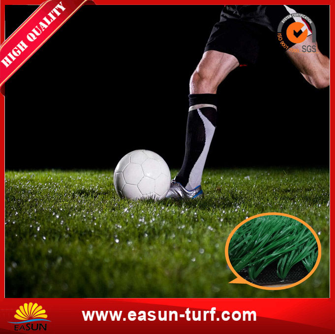 Anti-UV Outdoor or Indoor Artificial Turf Grass for Soccer Field-ML