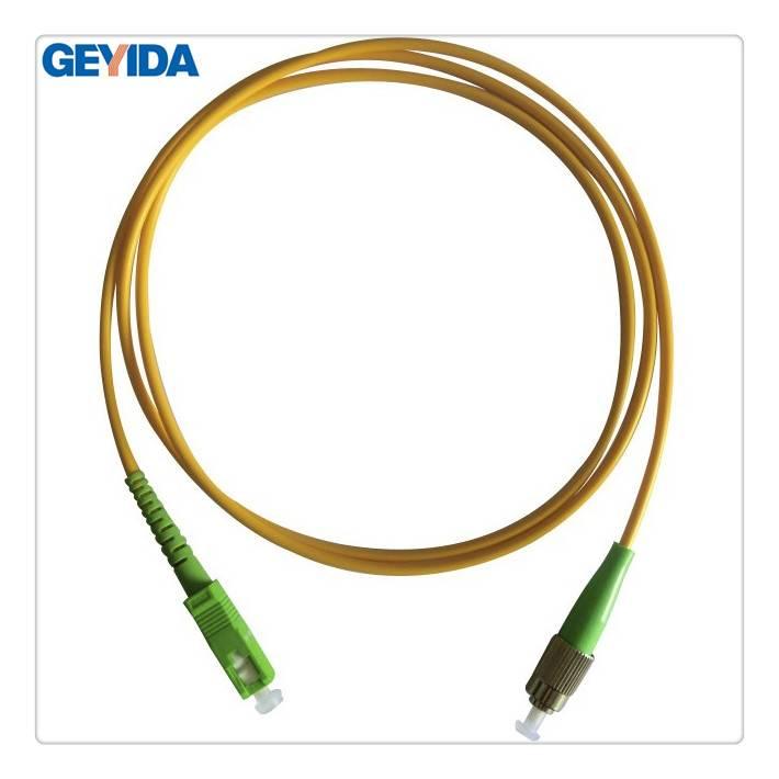 FC/APC-SC/APC fiber optic patch cord