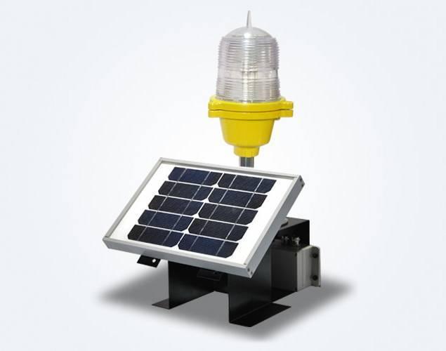 OLS10 Solar Based Low Intensity Obstruction Light