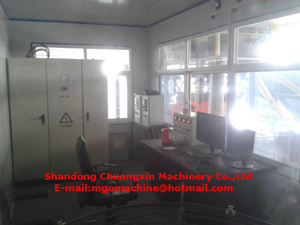 Environmental protection mgo board production line with no toxicity