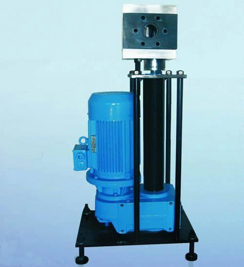 melt metering gear pump