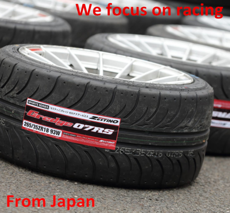 Zestino 07RS soft compound 255/35R18 245/40R17 DRIFT TIME ATTACK TIRES