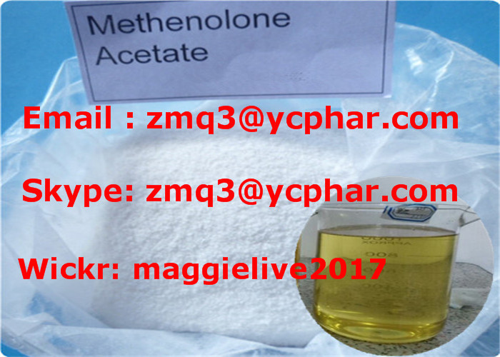Top Factory Supply Anabolic Steroid Powders Methenolone Acetate for Muscle