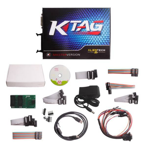 Unlimited Token V2.13 KTAG K-TAG ECU Programming Tool Master Version with Unlimited Token Hardware V
