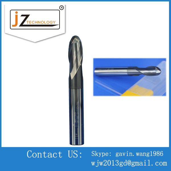 Quality Carbide Double Blades Nose Ball CNC End Mills