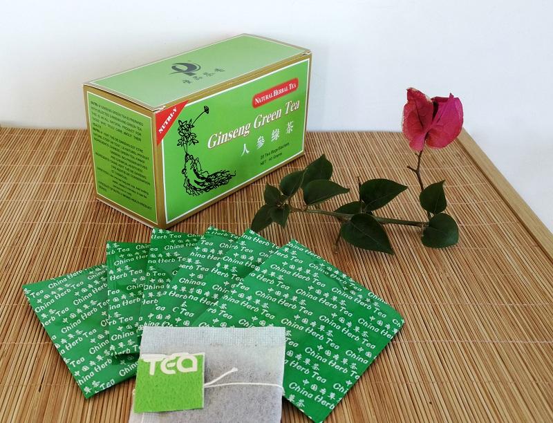 Chinese Herbal Ginseng Green tea bag