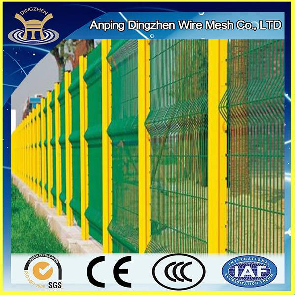 cheap /galvanized 3d model wire fence