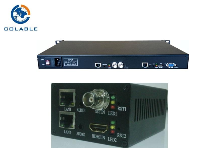 COL-8201HS single channel Multi-port H.265 encoder