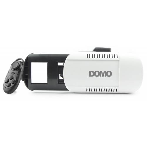 DOMO nHance VR8 Universal Virtual Reality 3D and Video Headset with external controller for Smart Ph