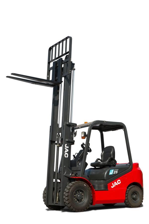 JAC Diesel Forklifttruck (CPCD30J) / JAC Auto Forklift with Isuzu Engine