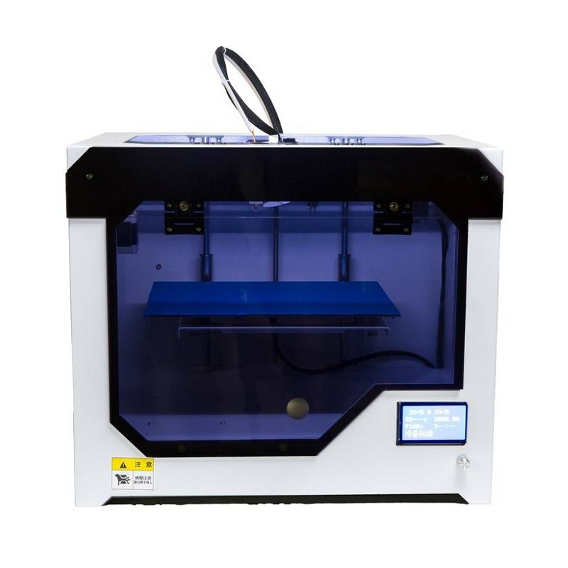 3D Printer Big Printing Size Fully Closed Cover Auto Filament Feeding