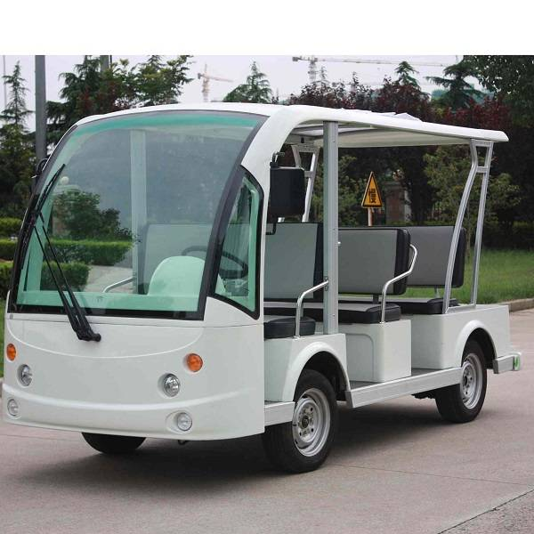 new type 8 seater electric resort bus for tourist