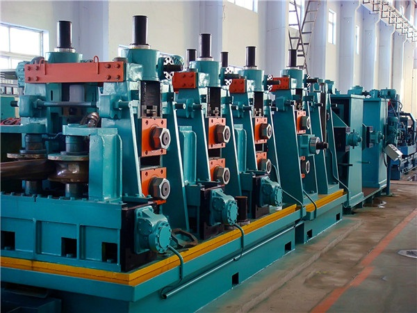 200mm Directly forming to square tube / pipe making machine