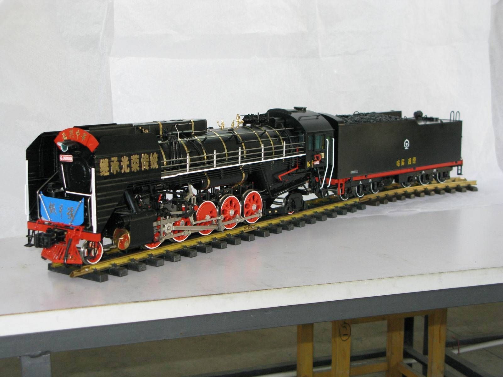 Collectable train toy - O scale Chinese Qianjing Iron Ox 6800#