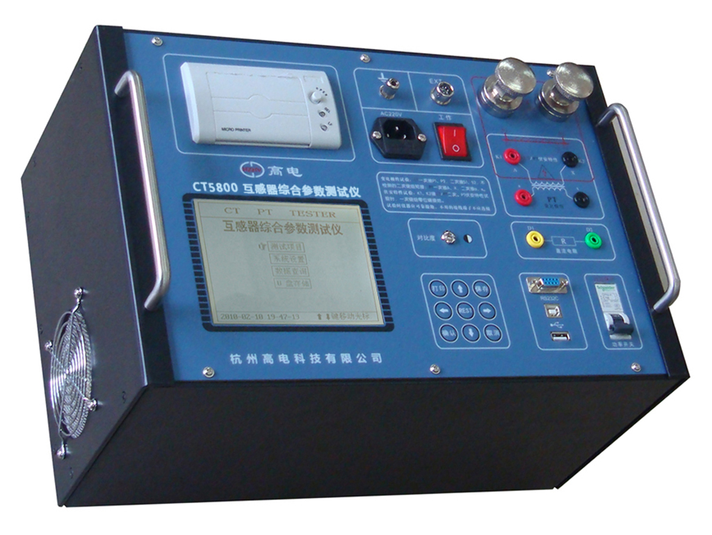 CT5800 transformer comprehensive parameter tester
