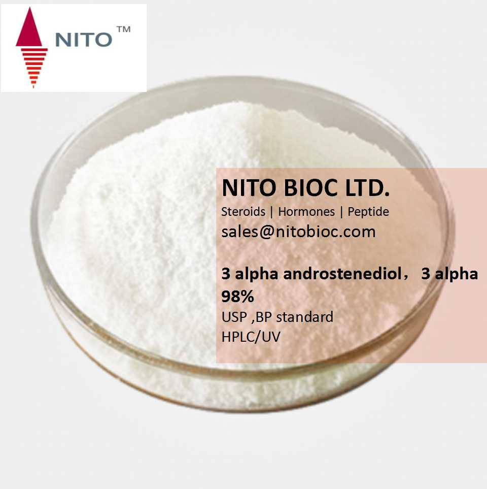 Factory Quality Control, Strong Intermediate Powder: 3 alpha androstenediol,3 alpha
