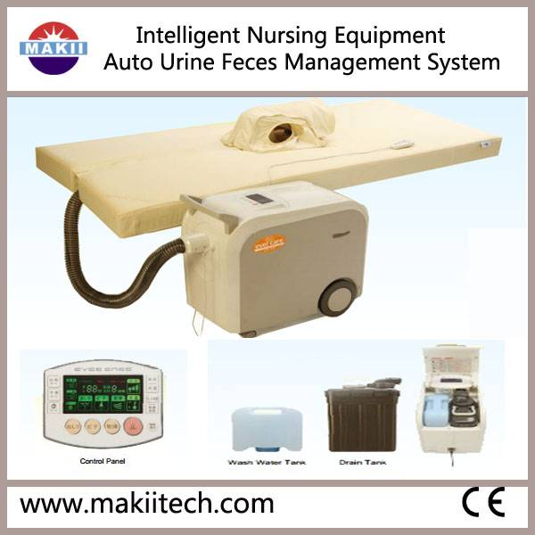 Intelligent Nursing Bed Toilet for Bedridden/ Paralytics/ Palliative Patients