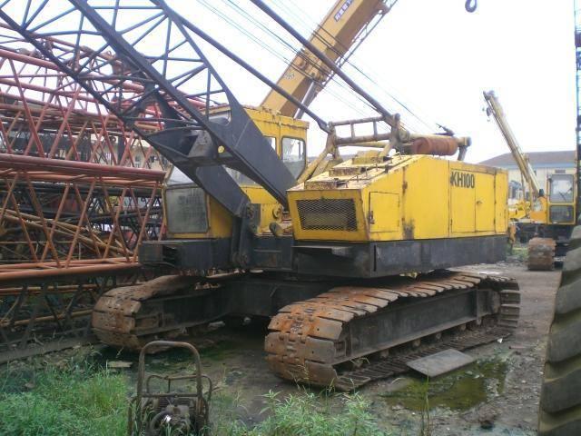 Used crawler hitachi crane kh100,hitachi used track crane kh100
