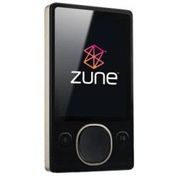 Brand New Zune 80 GB Digital Media Player Black (2nd Generation)